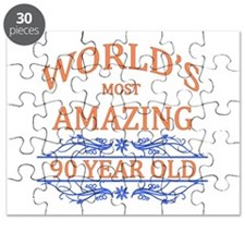 World's Most Amazing 90 Year Old Puzzle
