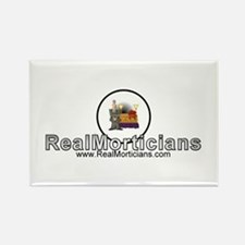 Real Morticians Logo Rectangle Magnet
