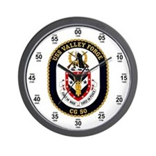 USS Valley Forge CG-50 Wall Clock