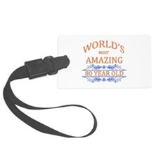 World's Most Amazing 80 Year Old Luggage Tag