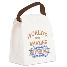 World's Most Amazing 80 Year Old Canvas Lunch Bag