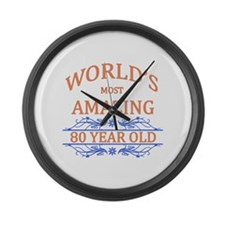 World's Most Amazing 80 Year Old Large Wall Clock