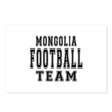 Mongolia Football Team Postcards (Package of 8)