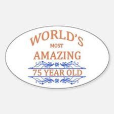 World's Most Amazing 75 Year Old Decal