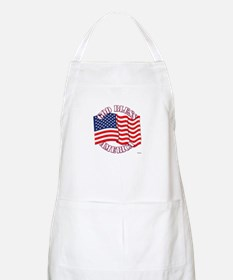 God Bless America With USA Flag Apron