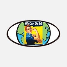 Rosie the Riveter We Can Do It Patches