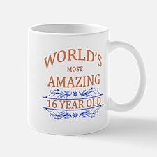 World's Most Amazing 16 Year Old Mug