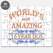 World's Most Amazing 16 Year Old Puzzle