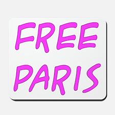 Free Paris - Mousepad