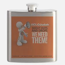CLOJudah ShoutOuts Drops Flask