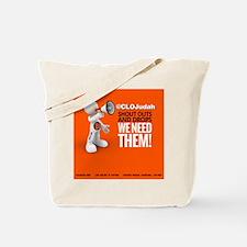 CLOJudah ShoutOuts Drops Tote Bag