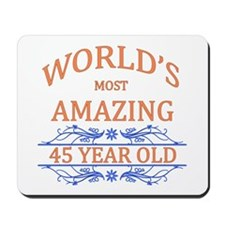 World's Most Amazing 45 Year Old Mousepad