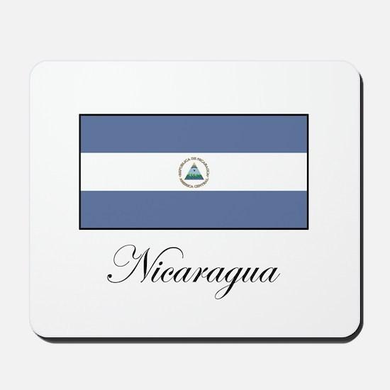 Nicaragua - Flag Mousepad