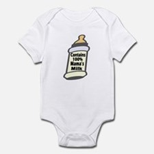 Contains 100% Mama's Milk Infant Bodysuit / Onesie