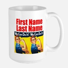 Rosie the Riveter We Can Do It Mugs