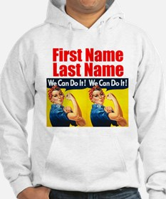 Rosie the Riveter We Can Do It Hoodie
