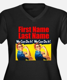 Rosie the Riveter We Can Do It Plus Size T-Shirt