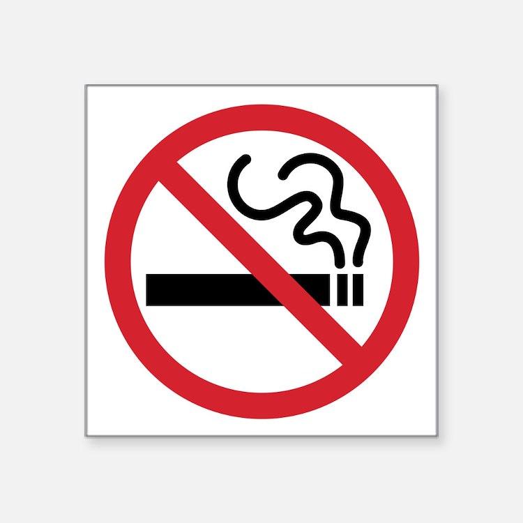 No Smoking Icon Sticker