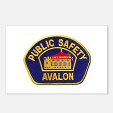 Avalon Public Safety Postcards (Package of 8)