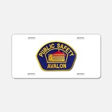 Avalon Public Safety Aluminum License Plate
