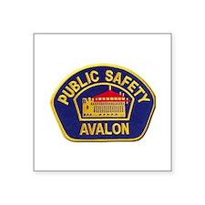 Avalon Public Safety Sticker