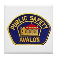 Avalon Public Safety Tile Coaster