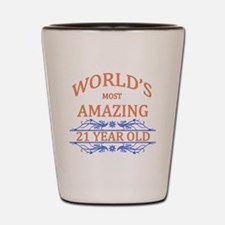 World's Most Amazing 21 Year Old Shot Glass