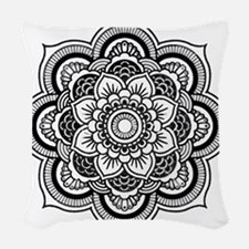 Yogini Mandala Woven Throw Pillow