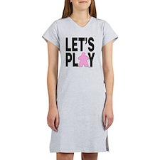 Let's Play Women's Nightshirt
