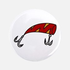 """Fish Hook 3.5"""" Button"""