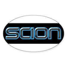 2-Scion Bumpersticker Decal