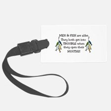 Get Into Trouble Luggage Tag