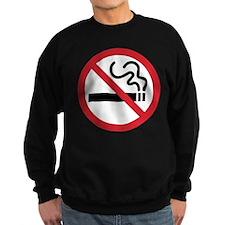 No Smoking Icon Sweatshirt
