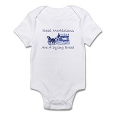 Morticians are a dying breed Infant Bodysuit