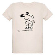 Snoopy- Dancing Dog Organic Kids T-Shirt