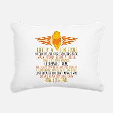 Be a Lion Rectangular Canvas Pillow