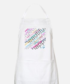 Positive Thinking Text Apron