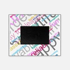 Positive Thinking Text Picture Frame
