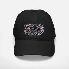 Positive Thinking Text Baseball Hat