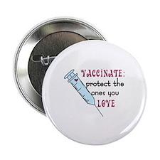 """Vaccinate 2.25"""" Button"""