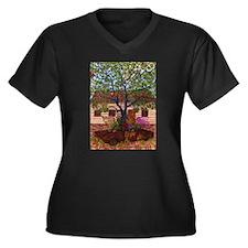 Girdners Tree Car Plus Size T-Shirt