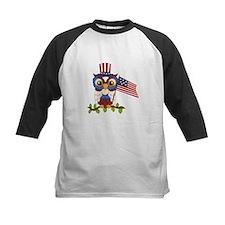 Patriotic Owl Tee