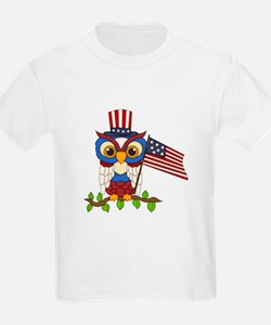 Patriotic Owl T-Shirt