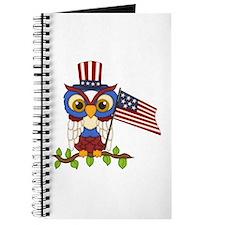 Patriotic Owl Journal