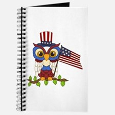 Patriotic Owl Journal