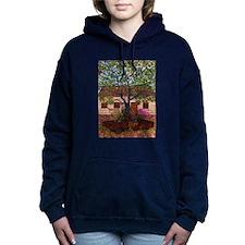 Girdners Tree Car Women's Hooded Sweatshirt