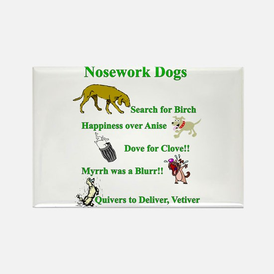 Nosework Dogs Working Magnets
