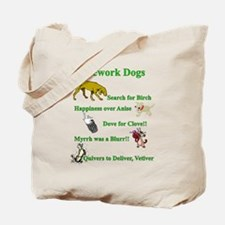 Nosework Dogs Working Tote Bag