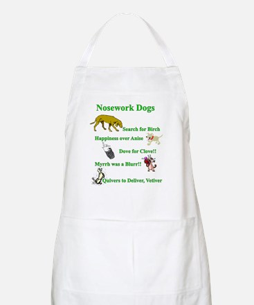 Nosework Dogs Working Apron