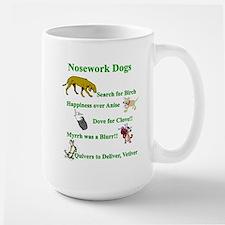 Nosework Dogs Working Mugs